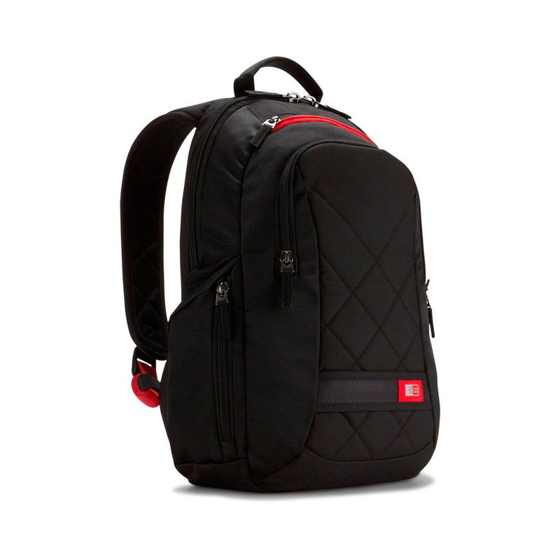 0b21015f2be Zwart Polyester laptoptas van Case Logic - Laptoptas.org